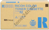 Oryginalny Toner Ricoh Type R2 Cyan (888347) Ricoh Color Toner Cassette Type R2